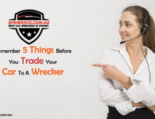 Remember 5 things before you trade your car to a wrecker